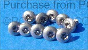 Torx Case Security Screws