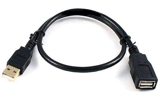 Usb Extension Cable Color Code: 1.5FT USB Extension CABLE TYPE A-Male to TYPE A-Female Black USB rh:pccables.com,Design