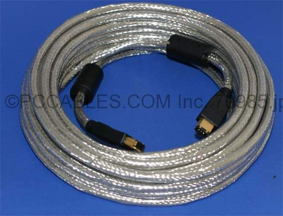 10 Meter 1394 Firewire Cable 6Pin 6Pin