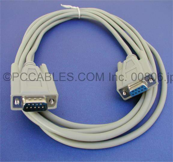 10FT DB9-M to DB9-F SERIAL Cable