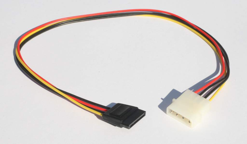 18 Inch SATA Power Cable