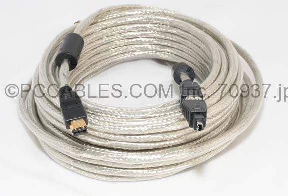 20 Meter FIREWIRE CABLE 6PIN 4PIN 65FT