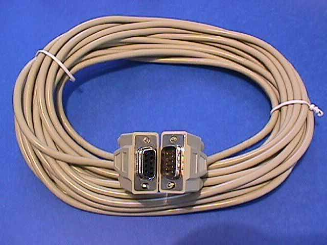 25FT DB9M to DB9F SERIAL CABLE