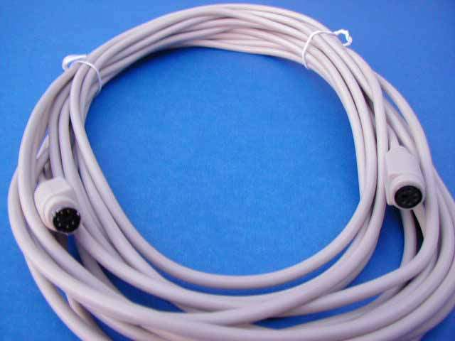 25FT KEYBOARD MOUSE EXTENSION CABLE MiniDIN6 Male to Female PS/2 PS2