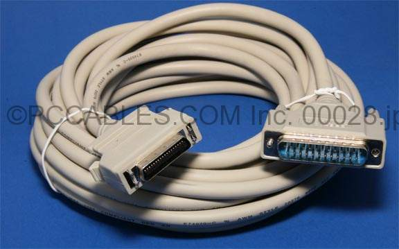 25FT PARALLEL PRINTER CABLE IEEE-1284 A-C