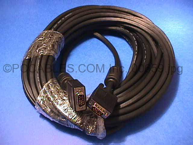 35FT SVGA CABLE MONITOR 35 FT UL2919 HD15 M-M