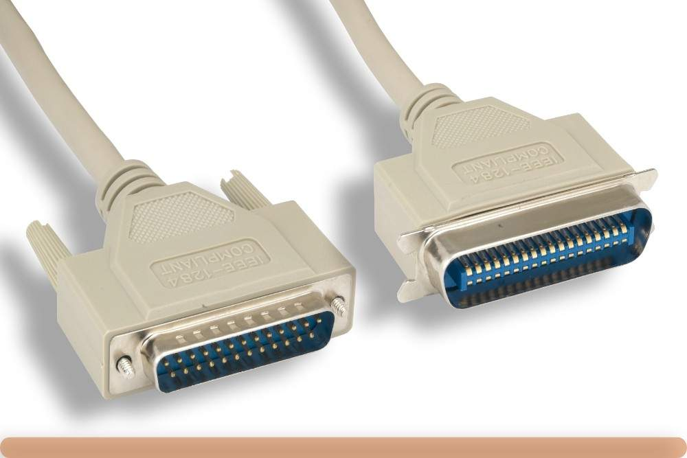 3FT Parallel Printer Cable IEEE-1284 A-B