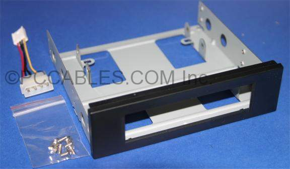 3.5 FLOPPY DRIVE Mounting Bracket Black