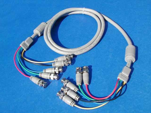 5 BNC TO 5 BNC CABLE 6FT