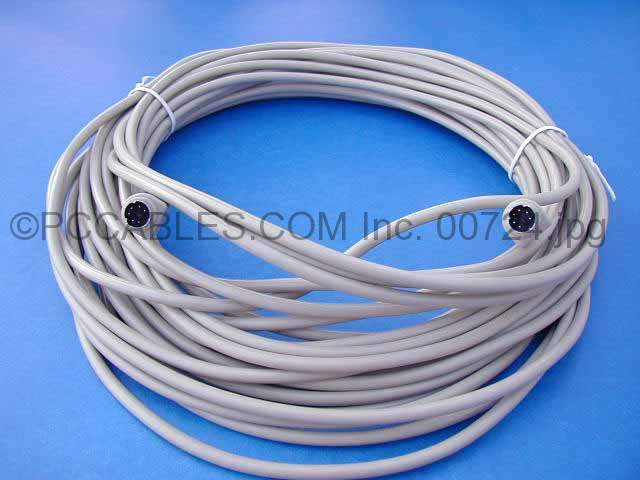 50FT KEYBOARD-MOUSE CABLE MINIDIN6 Male Male PS/2 PS2