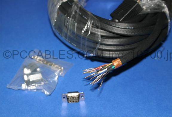 50FT UXGA CABLE MONITOR HD15 M-M CONDUIT-FEED