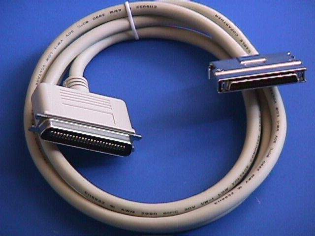 6FT SCSI-III HPDB68-M LATCH TO SCSI-I CN50-M