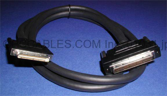 6FT SCSI-V VHDCI68-M 0.8mm TS to SCSI-III HPDB68-M TS