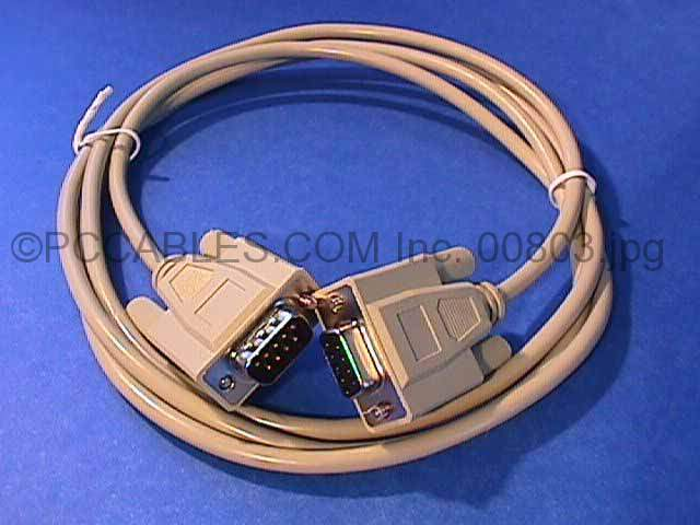 6FT DB9-M to DB9-F SERIAL CABLE