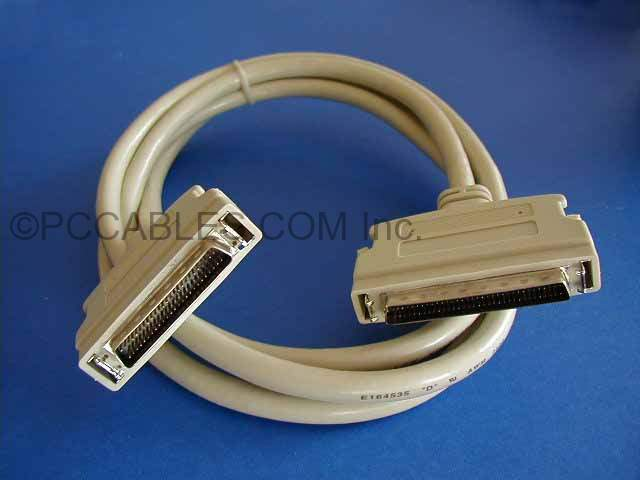 6FT SCSI-III HPDB68-M LATCH TO SCSI-II HPDB50-M LATCH