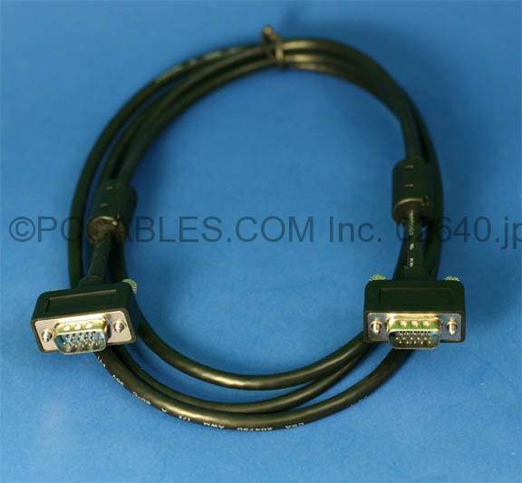 6FT SLIM VGA Monitor Cable M-M
