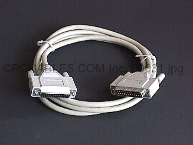 6FT Serial Printer HP Plotter Cable DB25 M-F