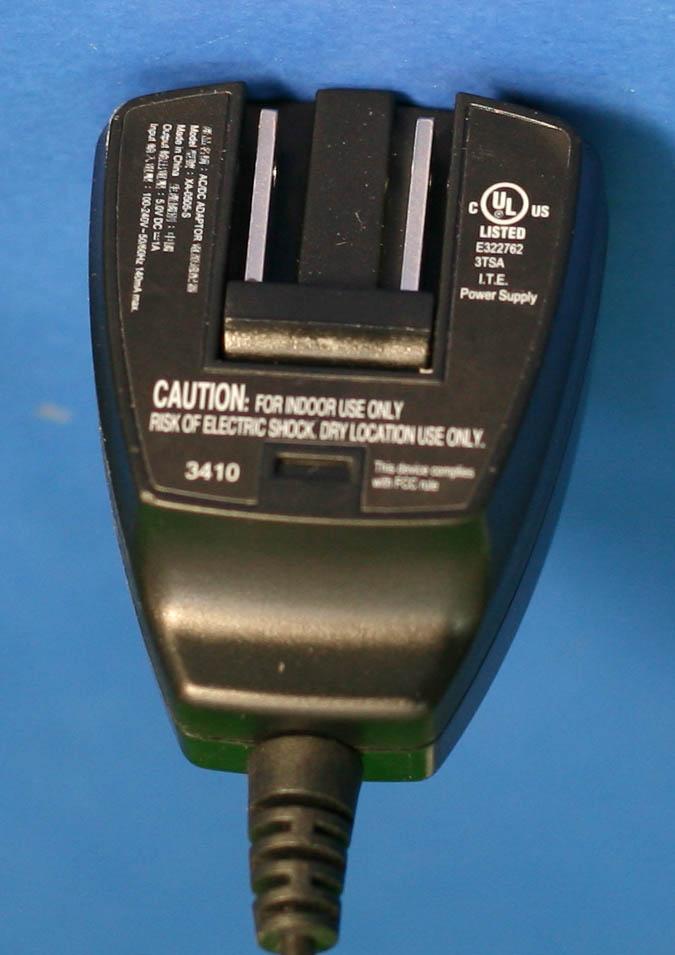 120v Ac To 5v Dc Wall Transformer 1 Amp With Mini B