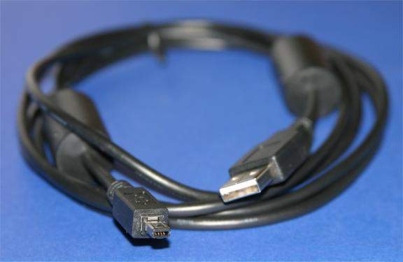 AIPTEK VIVITAR USB CAMERA CABLE TYPE A to B DCUP-9 6FT