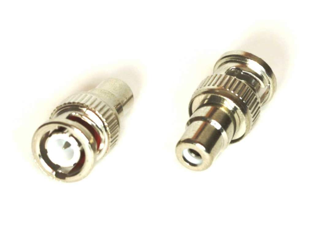 BNC-Male to RCA-Female ADAPTER