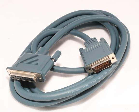 CAB-232FC-10 LFH DB60-M DB25-F 10FT CISCO CABLE