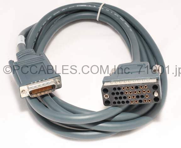 CAB-V35FC-10 LFH DB60-M V.35-F 10FT CISCO CABLE