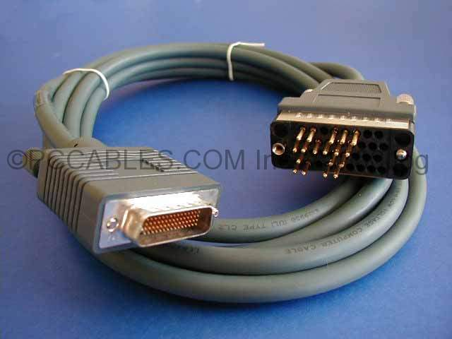 CAB-V35MT-10 LFH DB60-M V.35-M 10FT CISCO CABLE