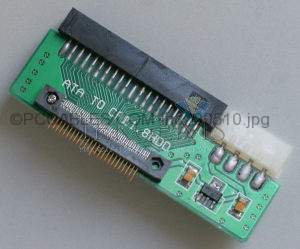 CF HARD DRIVE 1.8 INCH to 40 PIN ATA IDE ADAPTER