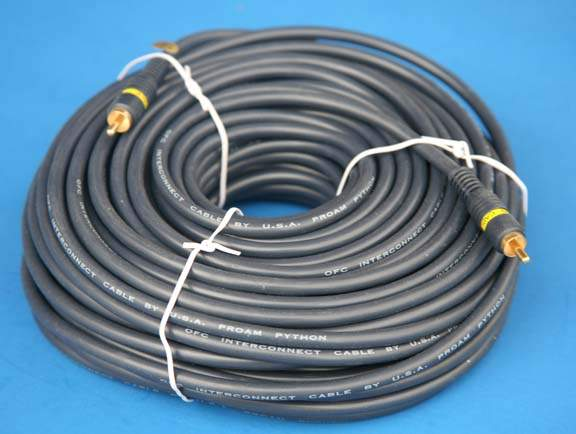 COMPOSITE VIDEO 100FT SINGLE RCA RCA