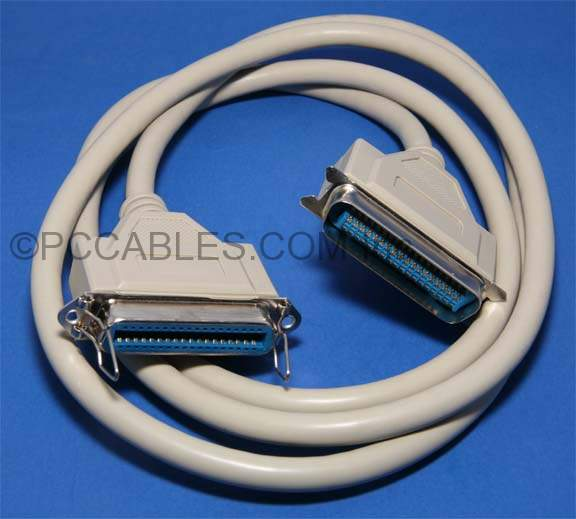 Centronics Parallel Extension Cable CN36-M CN36-F