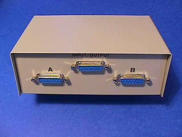 DB15 AB SWITCH Box DA-15 DA15