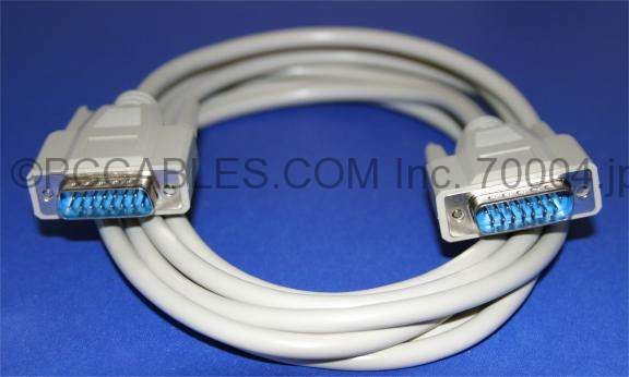 DB15 CABLE M-M 10FT