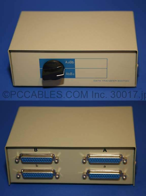 DB25 Female, Cross Over Switch Box