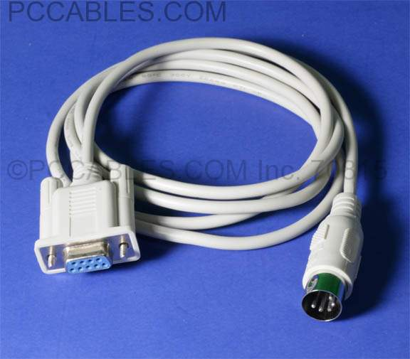 DIN5M to DB9F Cable 3 Feet Scale Interface