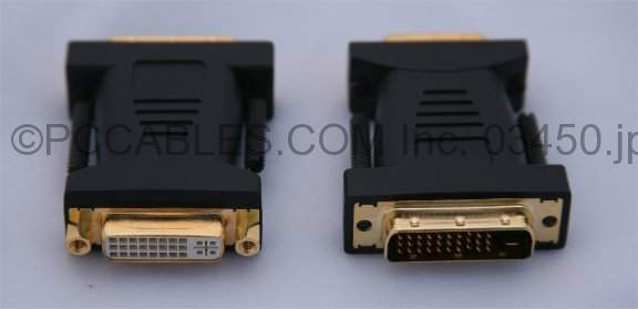 DVI-D Female to M1-D (EVC-34) Male Adapter