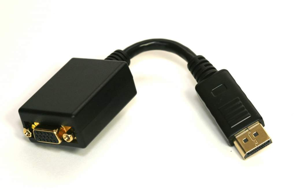 DisplayPort Male to VGA HD15 Female Adapter Cable
