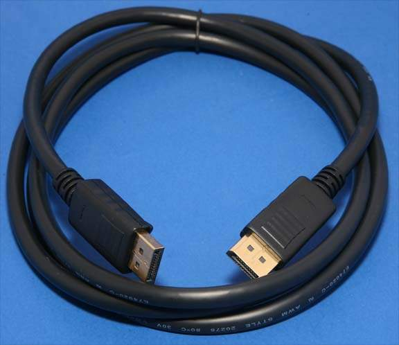 DisplayPort to DisplayPort Cable 6ft