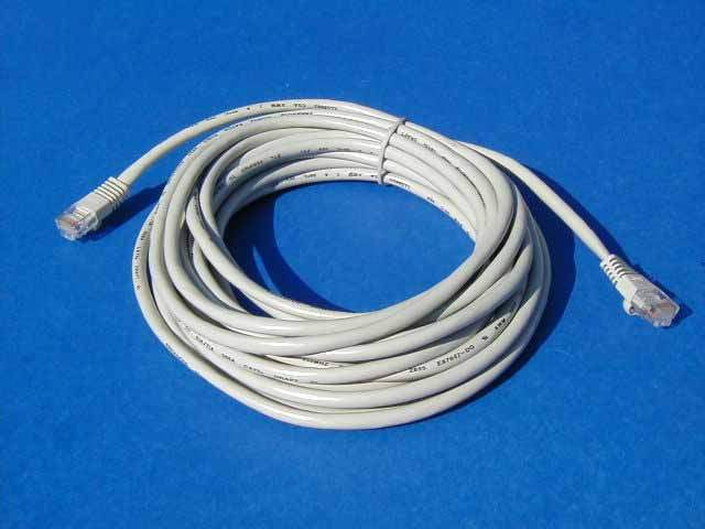 ETHERNET CROSSOVER NETWORK CABLE RJ45 CAT5e 25FT