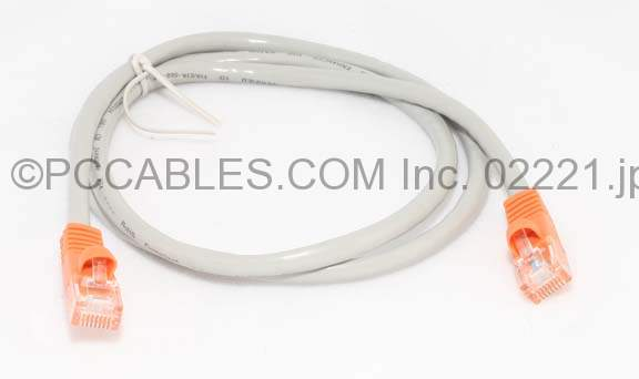 ETHERNET CROSSOVER NETWORK CABLE RJ45 CAT-5e 3FT