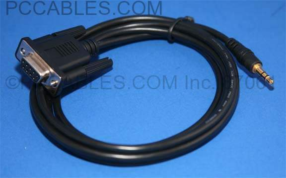 Elan G! Serial Controller Cable DB9-F to 3.5mm DCS-2