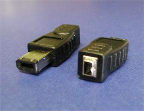 FIREWIRE ADAPTER 6PIN-M 4PIN-F
