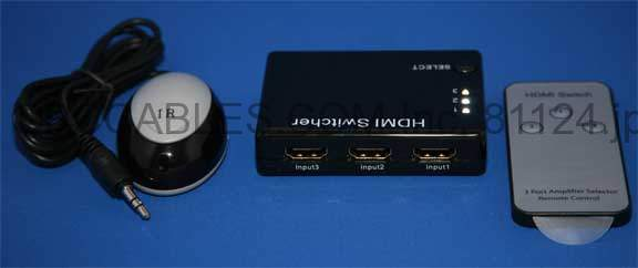 HDMI 3x1 Signal SWITCH Hdmi with Remote 1.3b