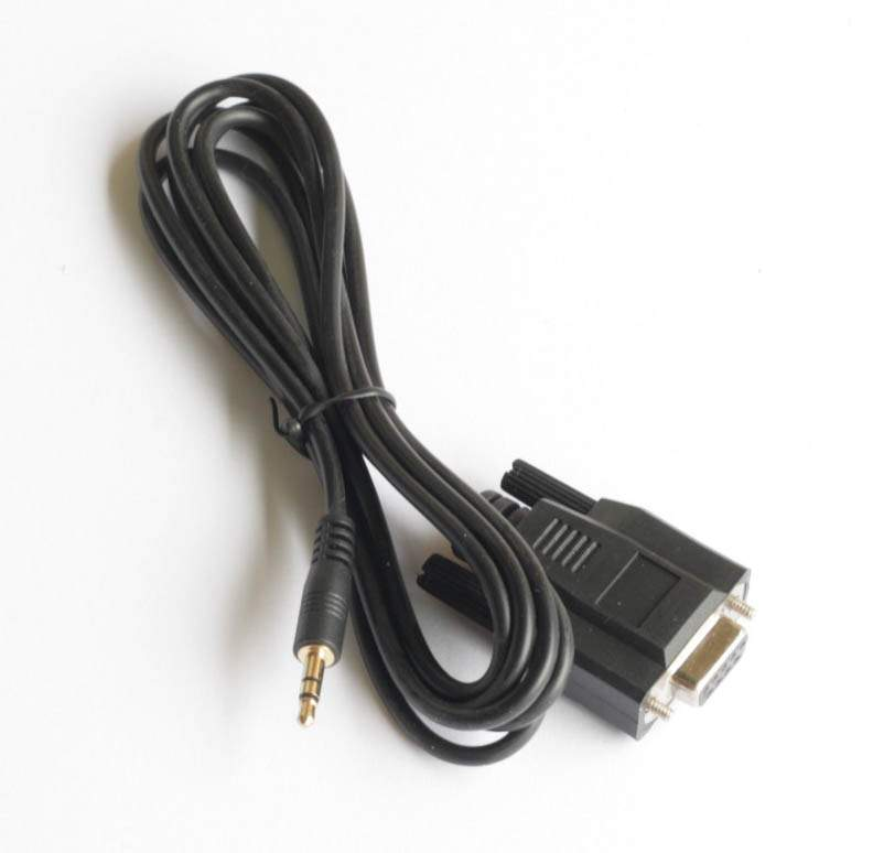 Intel Galileo Board Serial Cable DB9-F to 3.5mm