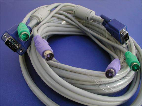 KVM Cable 15FT VIDEO Male to Male