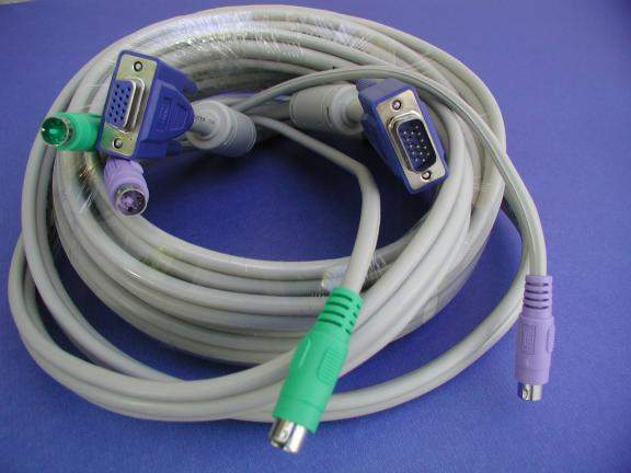 KVM Cable 25FT Video HD15 Male to Female