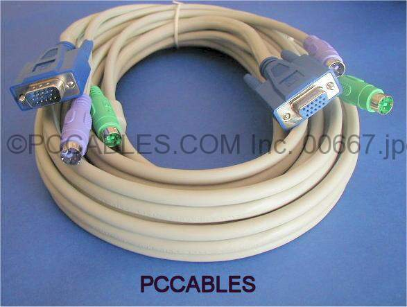 KVM Cable 6FT Video M-F