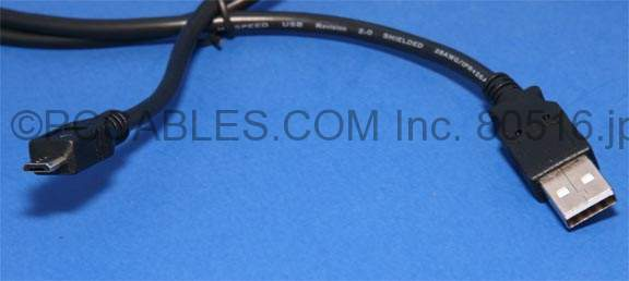 MicroUSB Cable MICRO-B 1FT