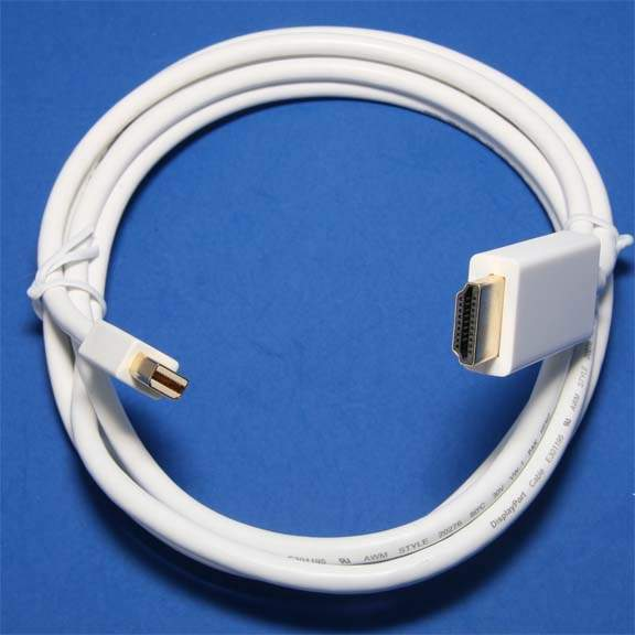 Mini-DisplayPort to HDMI Cable 6FT