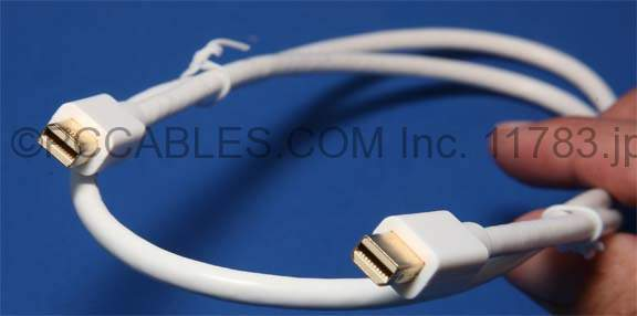Mini-DisplayPort Male-Male 10FT