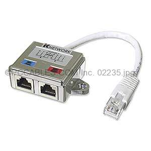 Cat5 Rj45 Ethernet Network Splitter Adapters Cable | World